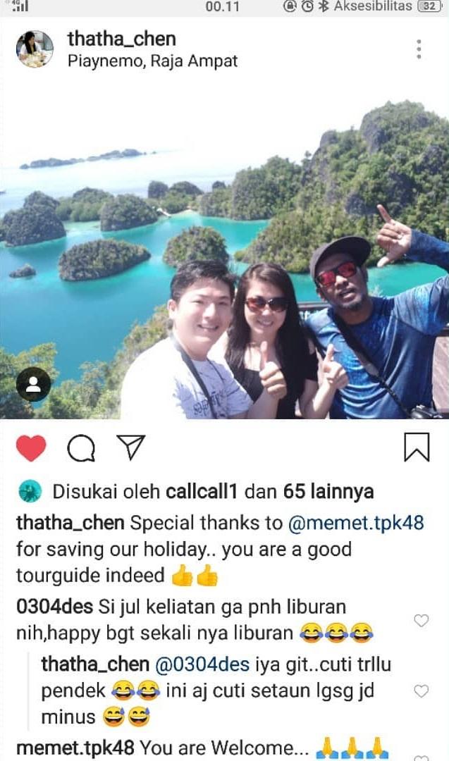 Testimoni TPK 48 Raja Ampat Tour